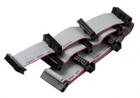 Alcad провод питания плоский 20-ти линейный, для запитывания 11 модулей (серия TO, UC...